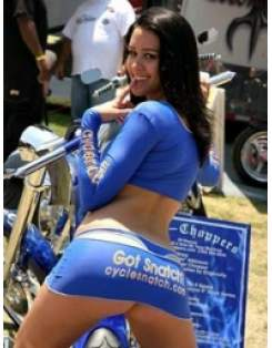 Moto devojka 1